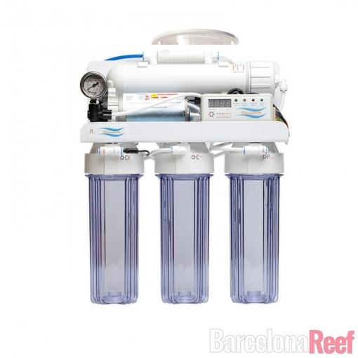 Sistema de osmosis inversa Puratek Deluxe 100 GPD para acuario marino | Barcelona Reef
