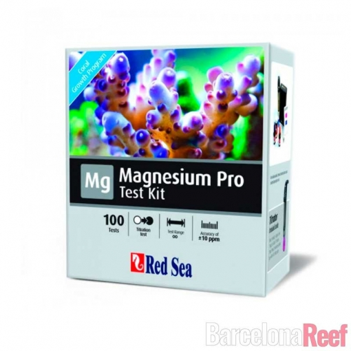 Test de Magnesio Pro Red Sea (75 tests) para acuario marino | Barcelona Reef