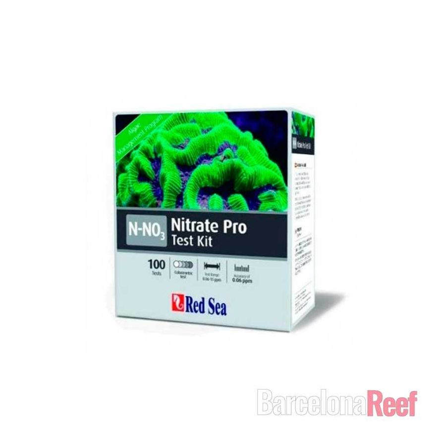 Test de Nitrato PRO Red Sea (100 kits)