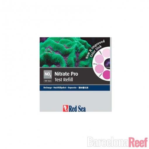 Kit de repuesto reagentes Nitrato PRO Red Sea para acuario marino | Barcelona Reef
