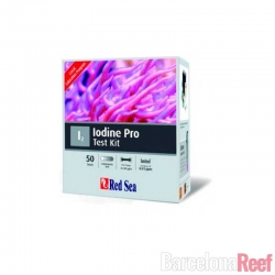 Comprar Test de Yodo PRO Red Sea (50 tests) online en Barcelona Reef
