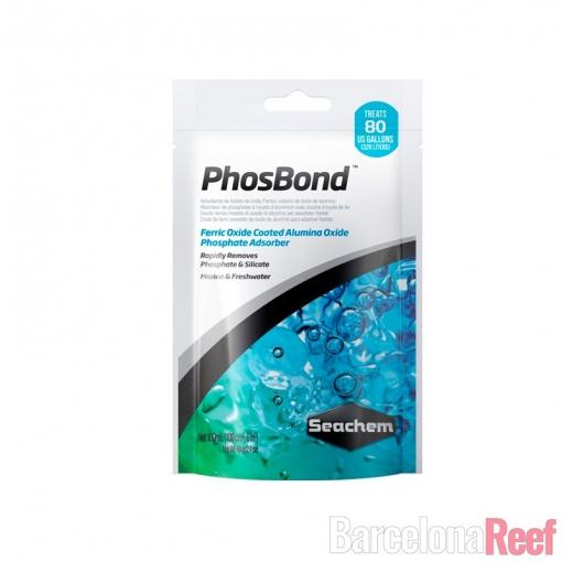 Eliminador de fosfatos y silicatos PhosNet Seachem para acuario marino | Barcelona Reef