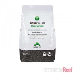 Sustrato para plantas Aquasolum Black Humate de Aquavitro