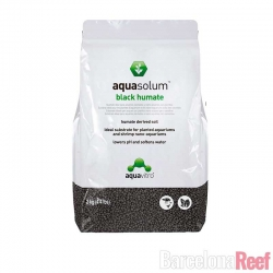 Comprar Sustrato para plantas Aquasolum Black Humate de Aquavitro online en Barcelona Reef