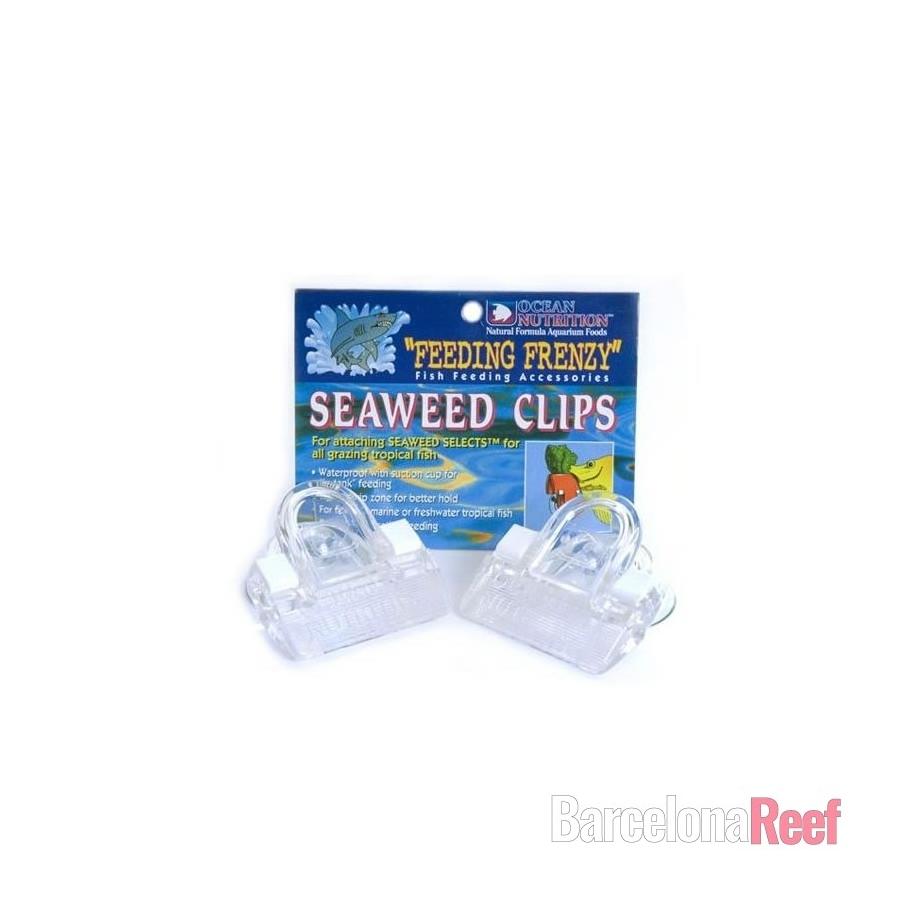 Fijador para algas Seaweed clips - blister 2 unidades