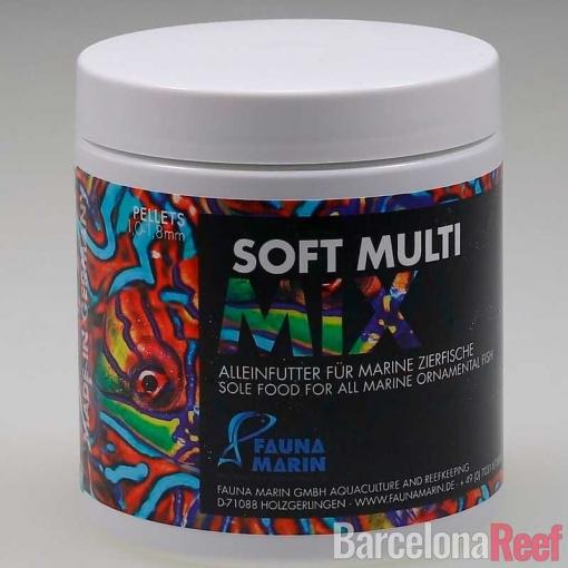 Alimento Soft Multi Mix Fauna Marin para acuario marino   Barcelona Reef