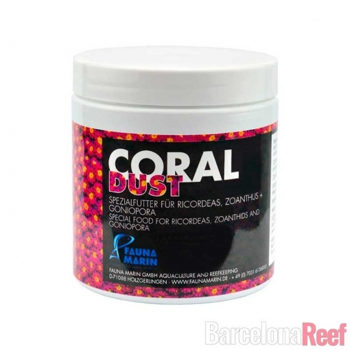 Alimento Coral DUST Fauna Marin para acuario marino | Barcelona Reef