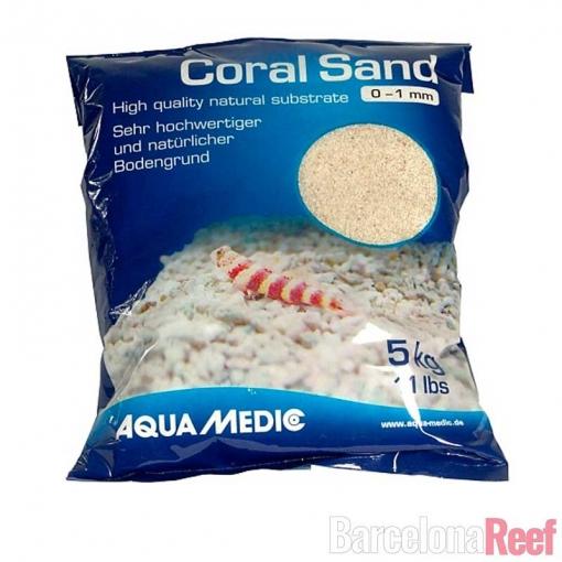 Arena Coral Sand Aquamedic para acuario marino | Barcelona Reef