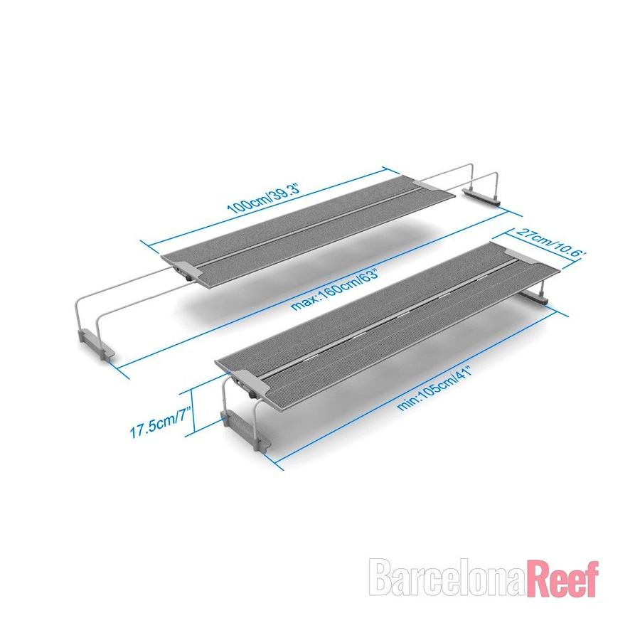 Pantalla LED MaxSpect R420R-115 para agua dulce