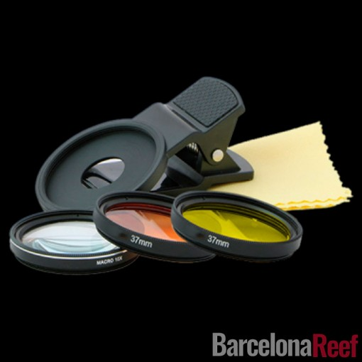 Clip fotográfico D-D Coral Colors para acuario marino   Barcelona Reef