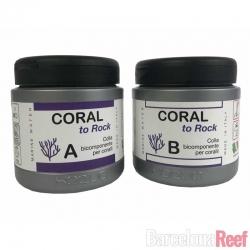 Pegamento para corales Coral to Rock de Xaqua