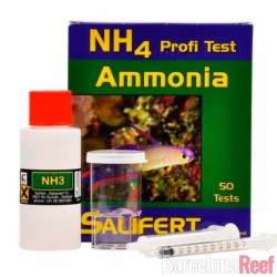 Test de Amoniaco (NH3) Salifert