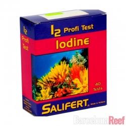 Test de Yodo (I2) Salifert