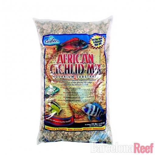 Sustrato African Cichlid Mix Original CaribSea para acuario marino | Barcelona Reef