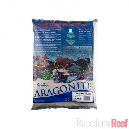 Aragonita Aragamax Select CaribSea para acuario marino | Barcelona Reef