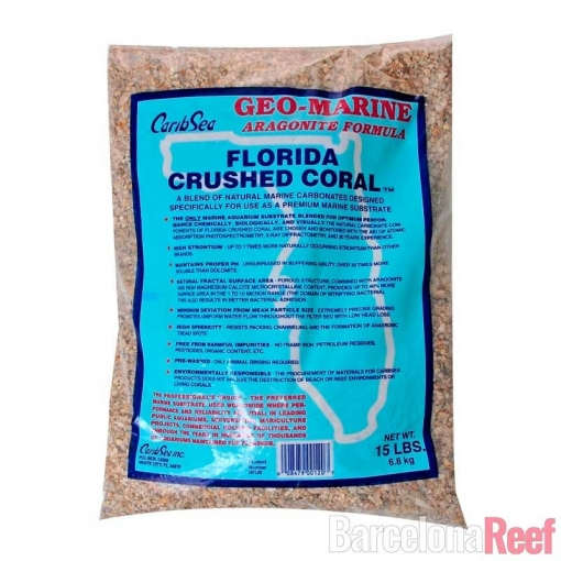 Sustrato Florida Crushed Coral para acuario marino | Barcelona Reef