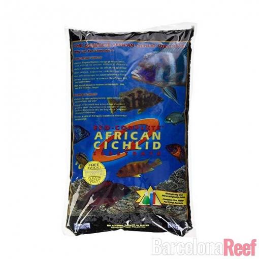 Sustrato Eco-Complete Cichlid Sand CarbibSea para acuario marino   Barcelona Reef