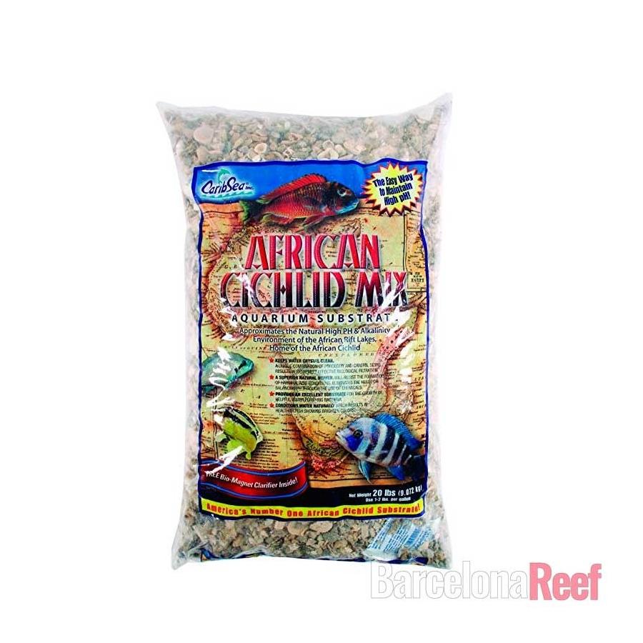 Sustrato African Cichlid Mix Sahara Sand Caribsea