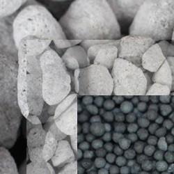 Resinas y cargas filtrants
